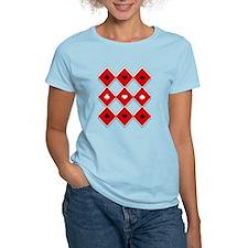 Classic Poker Argyle Pattern T-Shirt