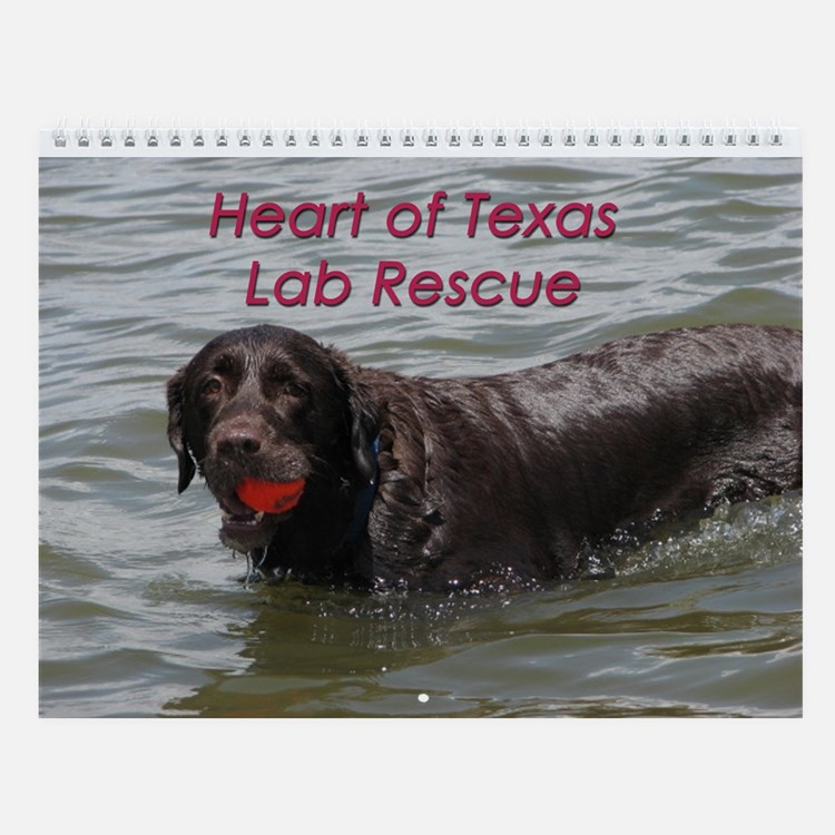 HOTLR Water Dogs Wall Calendar