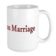 Ban Republican Marriage Mug