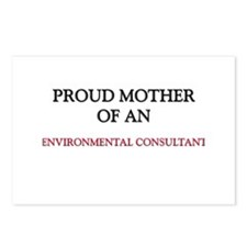 Proud Mother Of An ENVIRONMENTAL CONSULTANT Postca