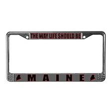 Maine License Plate Frame