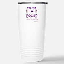 Will Cook For Books Travel Mug