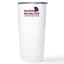Raised Republican Travel Mug