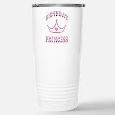 Birthday Princess Travel Mug