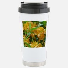 Flame Azalea Stainless Steel Travel Mug