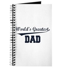 World's Greatest Dad Journal