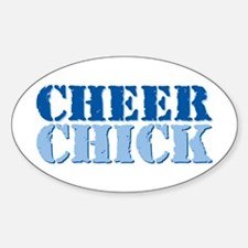 Cheer Chick Decal