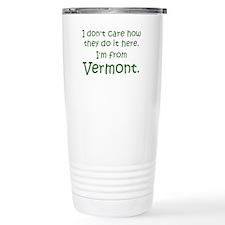 From Vermont Travel Mug