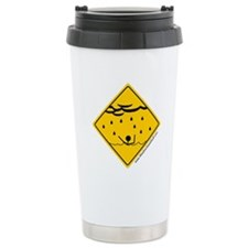 Flood Warning Travel Coffee Mug