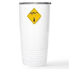 Snow Warning Travel Mug