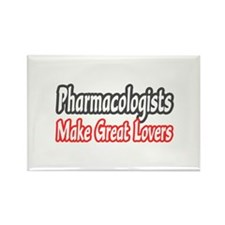 """Pharmacologists..Lovers"" Rectangle Magnet"