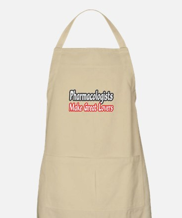 """""""Pharmacologists..Lovers"""" BBQ Apron"""