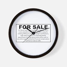 For Sale - Illinois Senate Seat Wall Clock