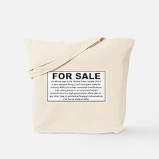 For Sale - Illinois Senate Seat Tote Bag