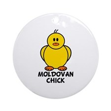 Moldovan Chick Ornament (Round)