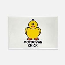 Moldovan Chick Rectangle Magnet