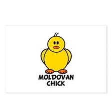 Moldovan Chick Postcards (Package of 8)