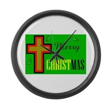 KEEP CHRIST FIRST Large Wall Clock