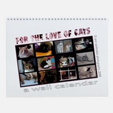 For the Love of Cats Wall Calendar