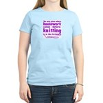 Housework before Knitting Women's Light T-Shirt