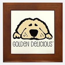Golden Delicious Framed Tile