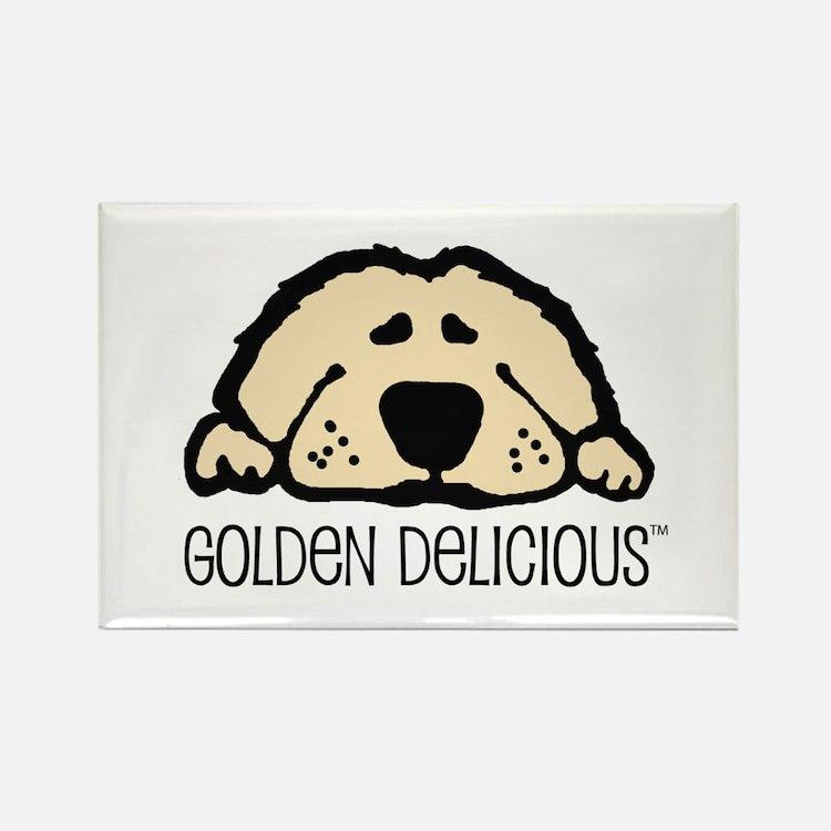 Golden Delicious Rectangle Magnet