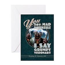 Mad Scientist? Grumpy Visionary Card