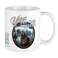 Mad Scientist? Grumpy Visionary Small Mug