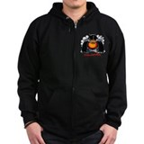 Dodge challenger rt scat pack Zip Hoodie (dark)