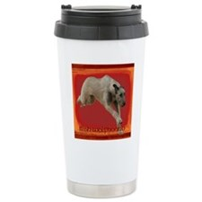 Lure Coursing Ir Wolfhound Travel Mug