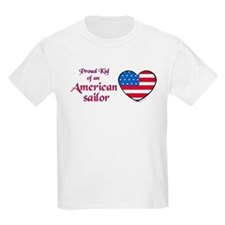 Proud Kid of an American Sailor T-Shirt