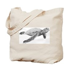 Green Sea Turtle Tote Bag