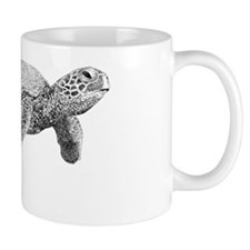 Green Sea Turtle Mug