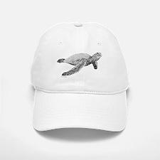 Green Sea Turtle Baseball Baseball Cap