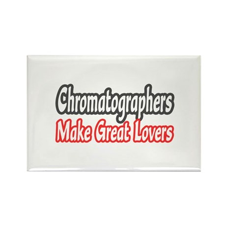 """Chromatographers..Lovers"" Rectangle Magnet"