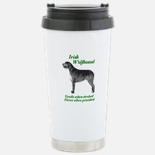 irish Wolfhound Gentle...on Thermos Mug