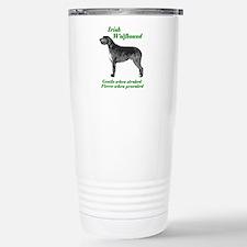 irish Wolfhound Gentle...on Travel Mug