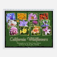 California Wildflower Wall Calendar