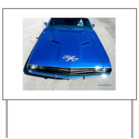 1970 Dodge Challenger R/T Yard Sign