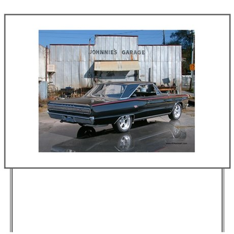 Dodge Coronet R/T Yard Sign