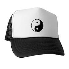 Yin Yang Symbol Trucker Hat