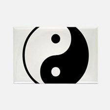 Yin Yang Symbol Rectangle Magnet