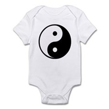 Yin Yang Symbol Infant Bodysuit