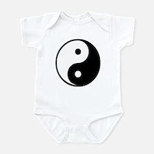 Yin Yang Symbol Infant Bodysuit