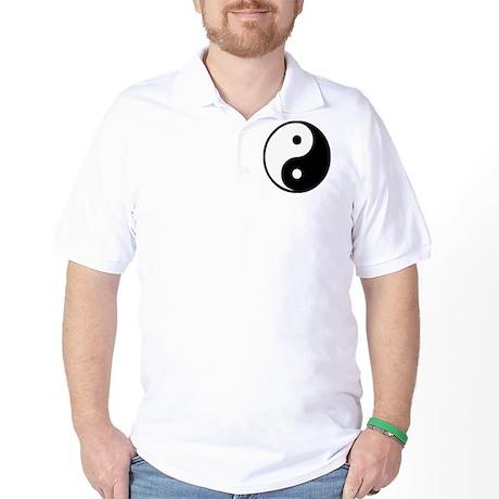 Yin Yang Symbol Golf Shirt