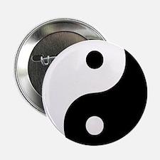 "Yin Yang Symbol 2.25"" Button"