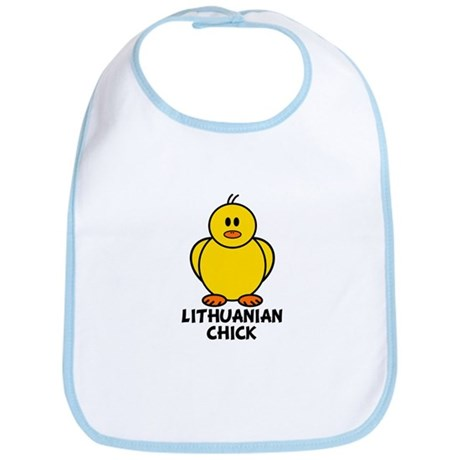 Lithuanian Chick Bib