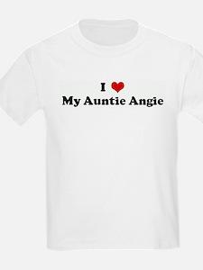 I Love My Auntie Angie T-Shirt