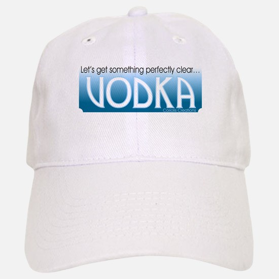 Vodka Clear - Baseball Baseball Cap