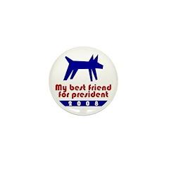 Best friend president. Mini Button (10 pack)
